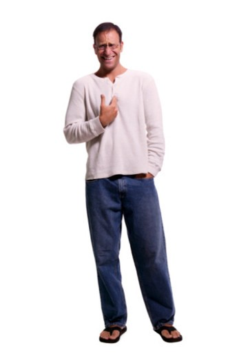 Man gesturing : Stock Photo