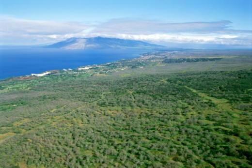 Aerial view of Hawaii : Stock Photo
