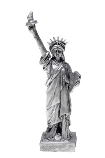 Stock Photo: 1557R-375770 Statue of Liberty figurine