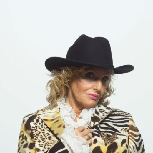 Woman in cowboy hat : Stock Photo