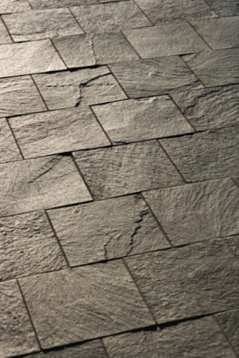 Stone pavement : Stock Photo