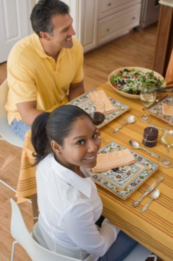 People at dinner party : Stock Photo