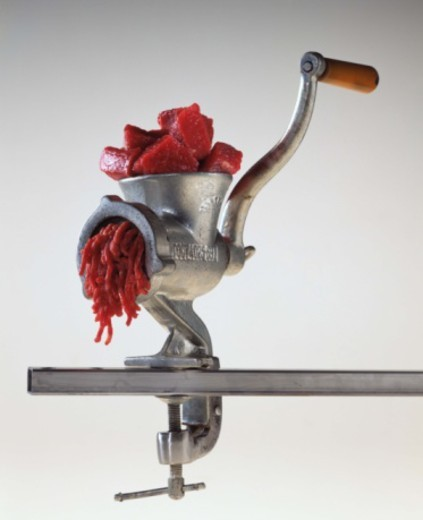 Meat grinder : Stock Photo