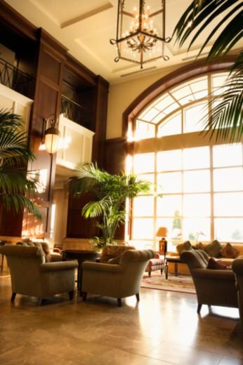 Hotel lobby : Stock Photo