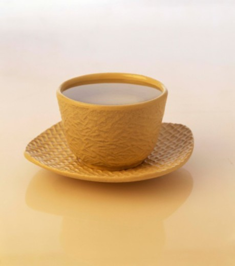 Green tea in japanese cup : Stock Photo