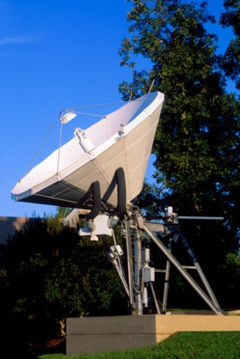 Stock Photo: 1557R-389954 Satellite dish