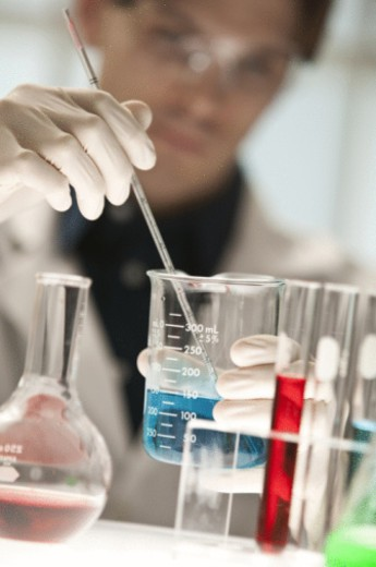 Stock Photo: 1557R-397498 Researcher