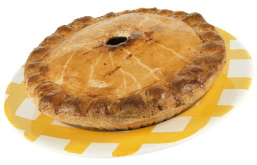 Stock Photo: 1557R-54042 Baked apple pie