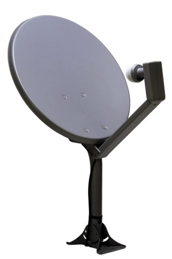 Stock Photo: 1557R-91080 Satellite dish