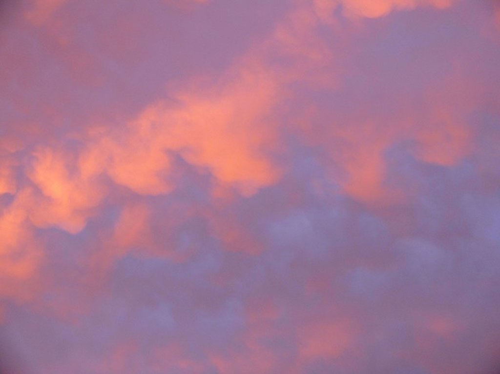 Cloud-heavens, sunset, series, heavens, clouds, evening-heavens, evening-mood, cloud-mood, symbol, romanticism, idylls, silence, silence, mood, text-space, : Stock Photo