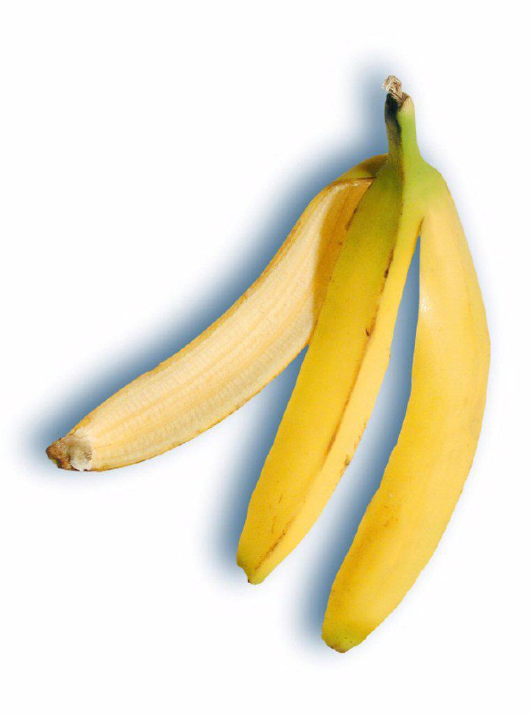 Banana skin, Still life, Fruit : Stock Photo