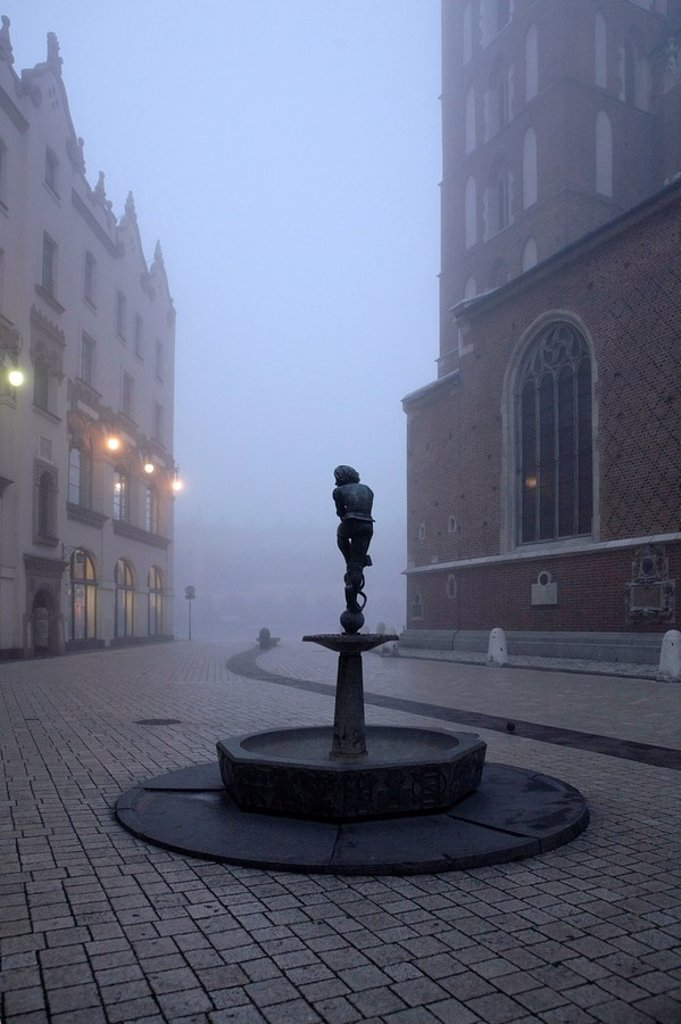 Poland, Cracow, : Stock Photo
