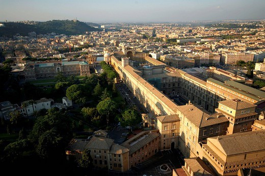 Stock Photo: 1558-147586 Italy, Rome, Vatican, Vatican museum, overview,
