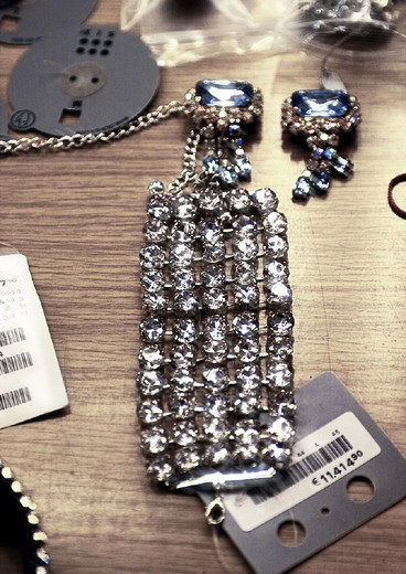 Fashion house, jewellery accessoire, detail : Stock Photo