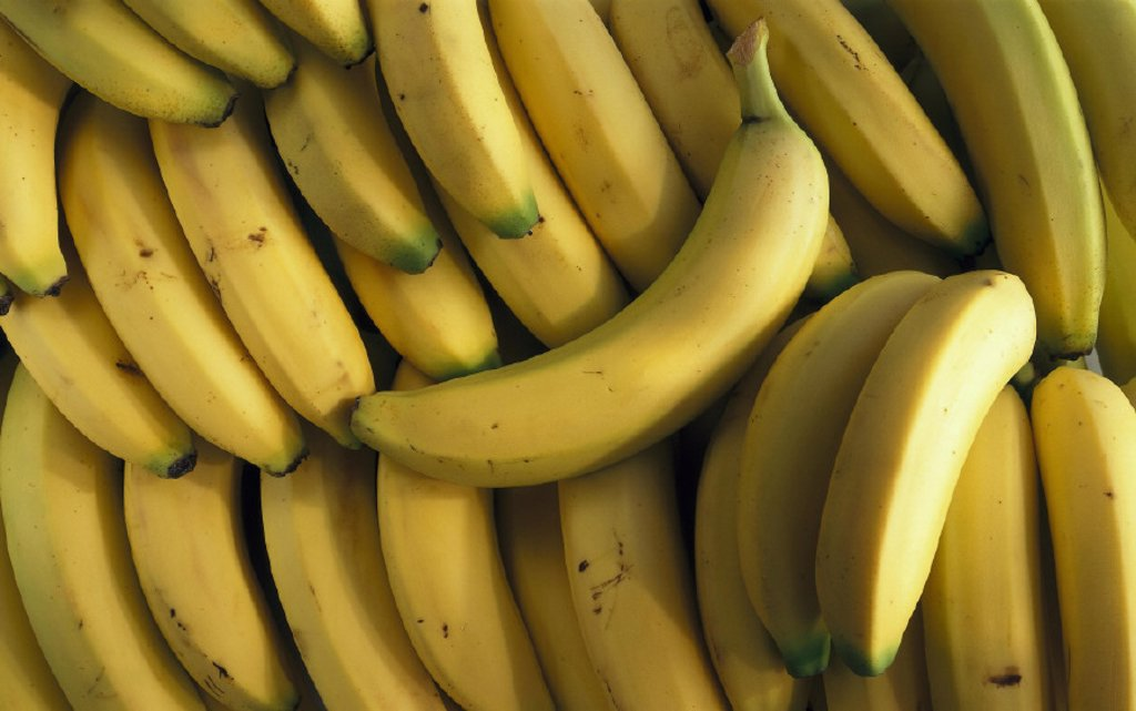 Bananas, Fruits : Stock Photo