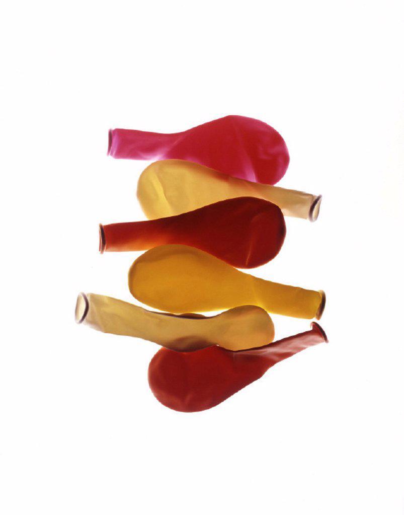 Balloons, air-empty, toy : Stock Photo
