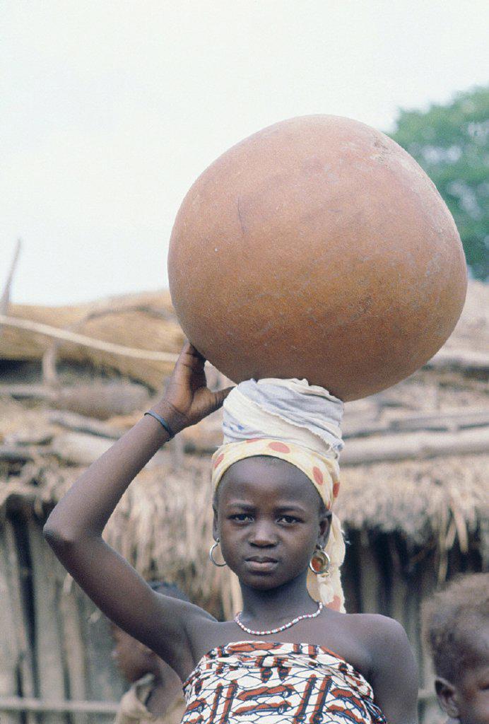 West Africa, Ivory Coast : Stock Photo