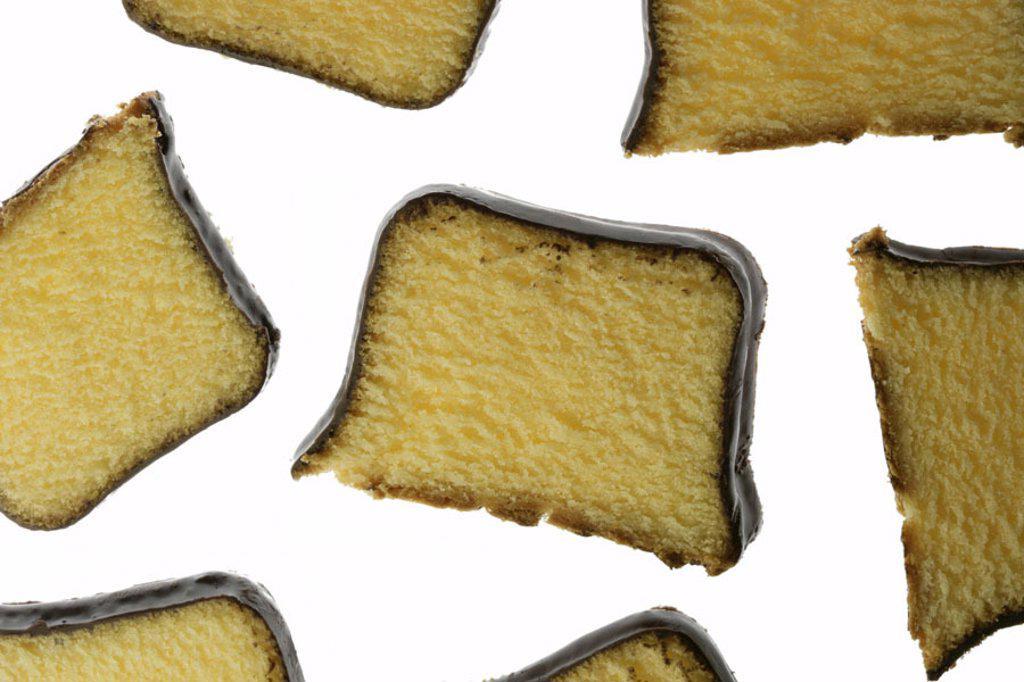 Chocolate cake, bragged   Cakes, Schoko-Kuchen, Schokoladenüberzug,  Schokoguss, chocolate glaze, chocolate, ready cakes, Rührkuchen, sand cakes, cake piece, pastries, pastries, food, sweet, rich in calories, pleasure, fact reception, free plates : Stock Photo