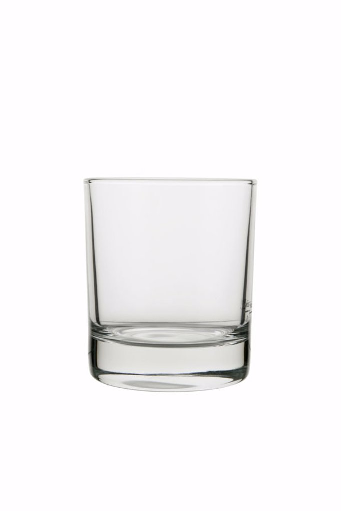 Stock Photo: 1558-87550 Whisky glass, empty,    Series, glass, beverage glass, new, unused, glass, drunk up transparently, celebrates lucidly, drinking, household merchandise, unbunt, quietly life, fact reception, free plates,