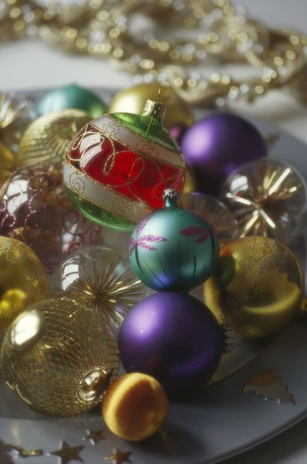 Stock Photo: 1558-96543 Christmas, Christmas balls, different,   Christmas jewelry, Christmas tree balls, tree jewelry, balls, colorfully, colorfully, differently, symbol, Christmas tree, traditions, decorates tradition,  quietly life fact reception,