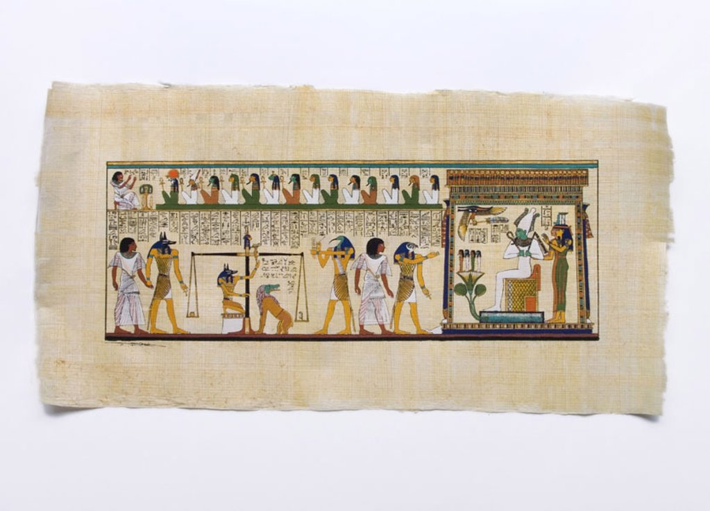 Stock Photo: 1558-99482 Egypt, Abydos, papyrus,  Hieroglyphics,   Paper, old, drawings, characters, history, culture, art, sight, belief, religion, symbol, destination, culture trip, tourism,