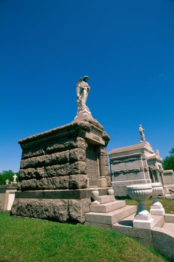 Stock Photo: 1561-157 Metairie Cemetery