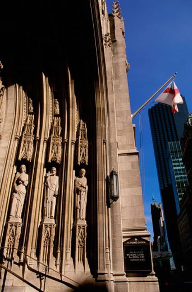 St. Thomas Church New York City USA : Stock Photo