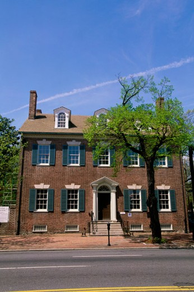 Lloyd House Alexandria Virginia, USA : Stock Photo