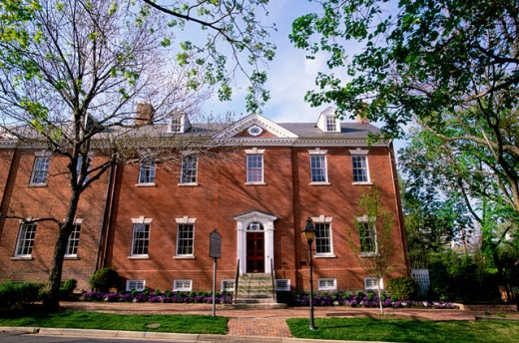 Robert E. Lee Boyhood Home Alexandria Virginia, USA : Stock Photo