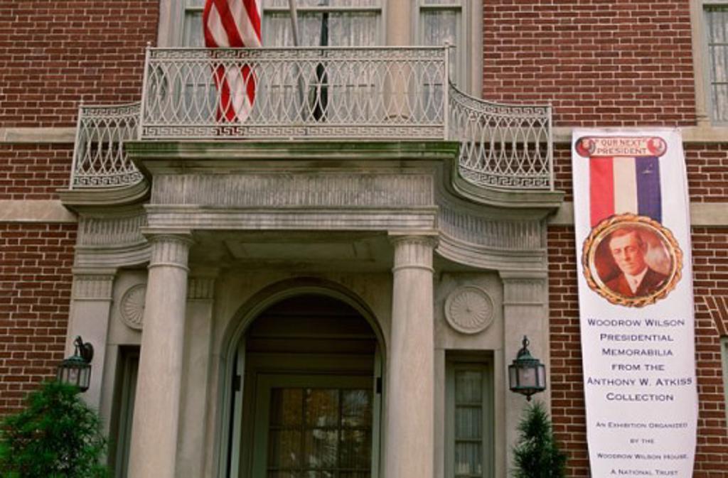 Stock Photo: 1561-629 Woodrow Wilson House Washington, D.C. USA