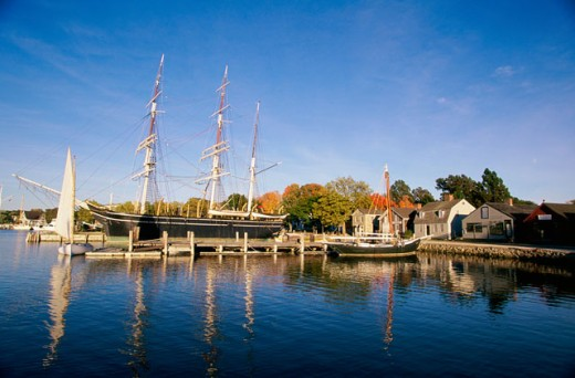 Stock Photo: 1561-715 Mystic Seaport