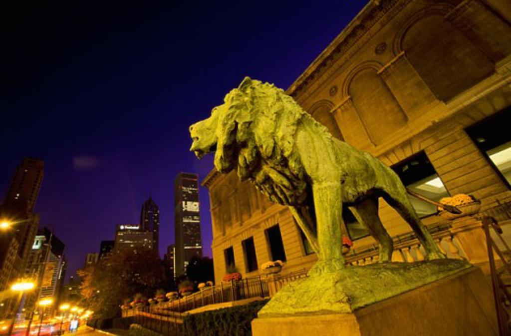 Art Institute of Chicago Chicago Illinois, USA : Stock Photo
