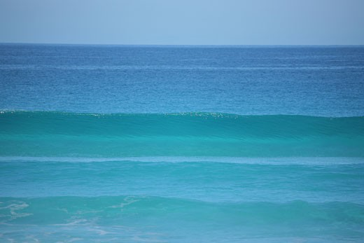 Waves in the sea, Eyre Peninsula, South Australia, Australia : Stock Photo