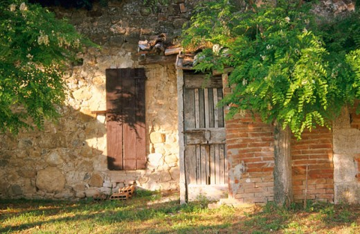 Stock Photo: 1566-0100128 Old house. Italy
