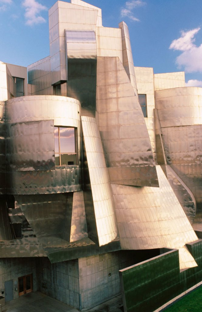 Stock Photo: 1566-0102500 Frederick R. Weisman Art Museum. Minneapolis. USA. Designed by Frank O. Gehry (Architect)