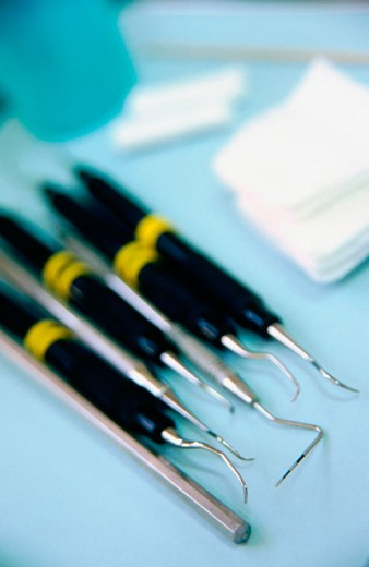 Dental tools : Stock Photo