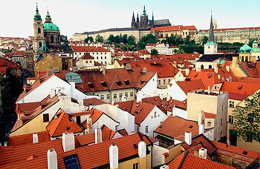 Malá Strana. Prague. Czech Republic : Stock Photo