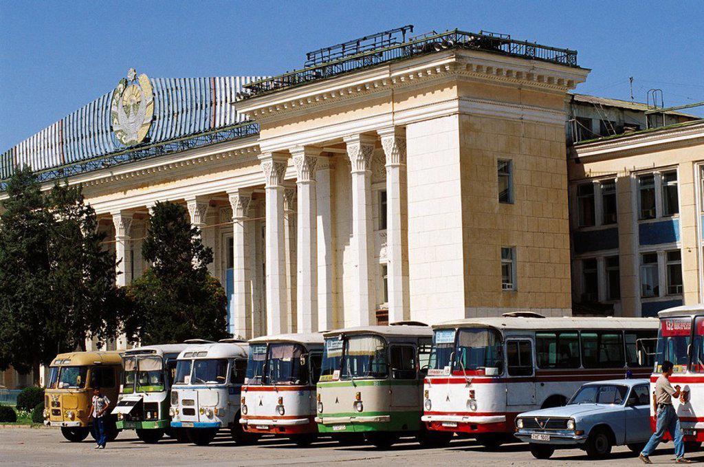 Independence Square. Tashkent. Uzbekistan : Stock Photo
