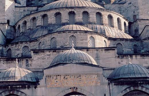 Yeni Camii mosque. Istanbul. Turkey. : Stock Photo