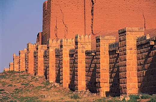 Adad Gate in Niniveh. Mossul. Iraq : Stock Photo