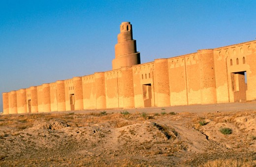 Stock Photo: 1566-0104422 Great Mosque of Samara in Irak