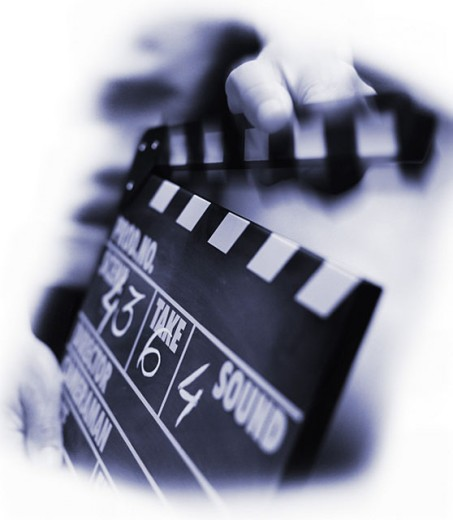 Clapperboard : Stock Photo