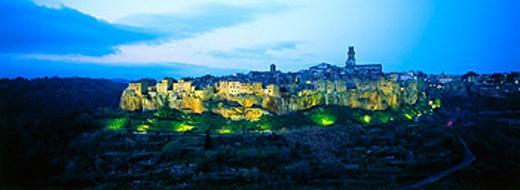 Pitigliano. Tuscany. Italy : Stock Photo
