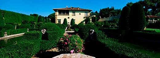 Stock Photo: 1566-0105629 Villa Gamberaia. Florence. Tuscany. Italy