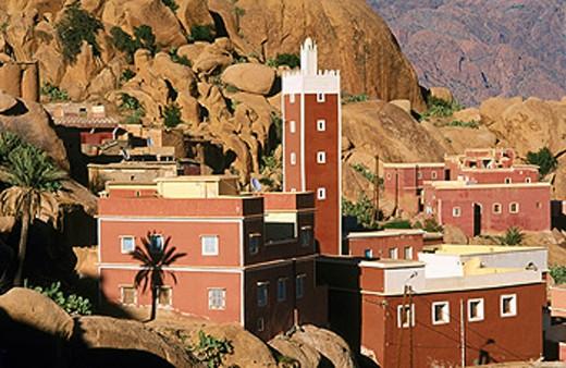 Stock Photo: 1566-0105847 Adai. Tafraoute. Lesser Atlas. Morocco