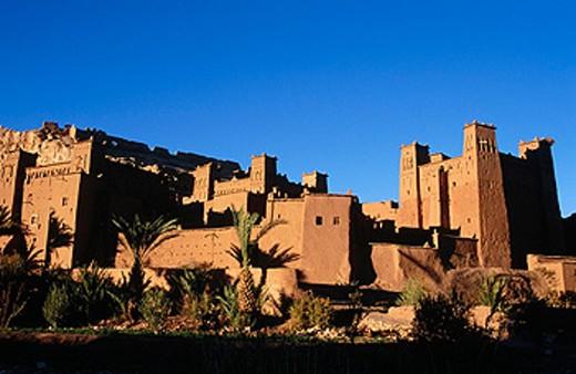 Kasbah of Aït Benhaddou in Ouarzazate. Morocco : Stock Photo