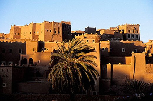 Stock Photo: 1566-0105982 Glaoui kasbah. Taourirt. Ouarzazate. High Atlas. Morocco