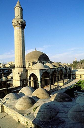 Khosofiyé mosque. Aleppo. Syria : Stock Photo