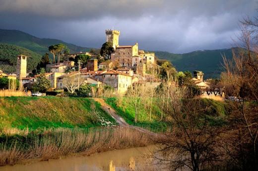 Vicopisano. Tuscany, Italy : Stock Photo