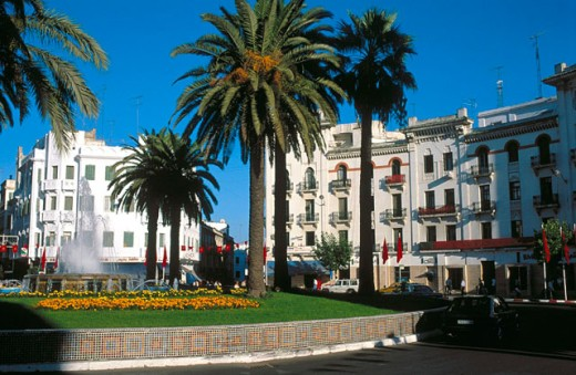 Stock Photo: 1566-0106685 View of Tetouan in Morocco (a World Heritage Site)
